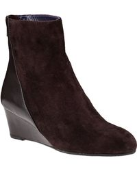 Vaneli For Jildor Laverne Ankle Boot T Moro Suede - Lyst