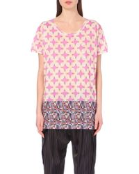 Dries Van Noten Harvan Cotton-Jersey T-Shirt - For Women - Lyst