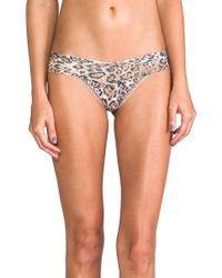 Hanky Panky Leopard Noveau Low Rise Thong - Lyst
