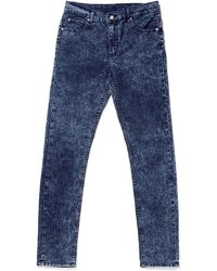 Cheap Monday Tight Jeans Blue Blitz In Skinny Fit - Lyst