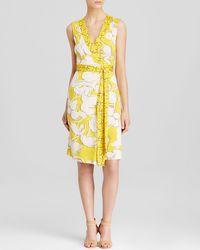 Diane von Furstenberg Wrap Dress - New Yahzi Silk - Lyst