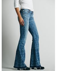 Free People Along The Border Printed Flare - Lyst
