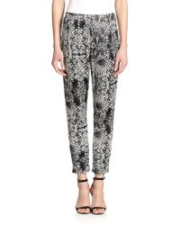 Parker Boomer Printed Pants - Lyst