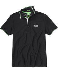 BOSS Green - Regular Fit Cotton Piqué Golf Polo Shirt Paddy Pro - Lyst