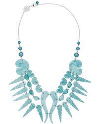 Tatty Devine | Sea Shell Swirl Necklace | Lyst