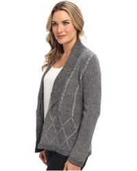 Pendleton Placed Cable Cardigan - Lyst