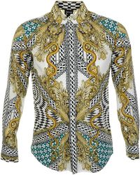 Just Cavalli Multicolor Print Shirt - Lyst