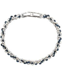 Gemini - Tennis Style Bracelet - Lyst