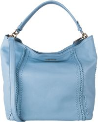 Cole Haan Nickson Leather Double-Strap Hobo Bag - Lyst