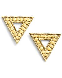 Anna Beck - 'gili' Triangle Stud Earrings - Lyst