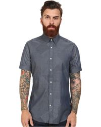 G-Star RAW Landoh Clean Short Sleeve Shirt gray - Lyst
