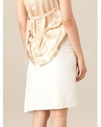 Ann Demeulemeester Blanche - Asymmetrical Skirt - Lyst