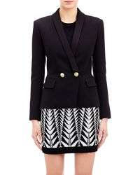 Balmain Double-Breasted Jacket - Lyst