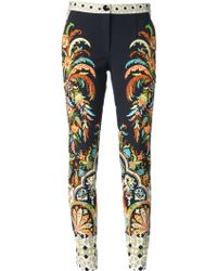 Etro Skinny Trousers - Lyst