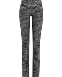 Missoni | Knit Pants With Wool - Multicolor | Lyst