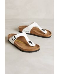 Birkenstock Gizeh Sandals - Lyst
