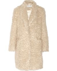 Elizabeth And James Iris Faux Shearling Coat - Lyst