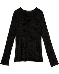 Alexander Wang Destroyed Pullover - Lyst