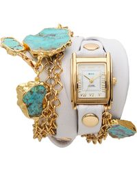 La Mer Collections Durango Wrap Watch - Lyst