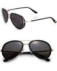 Tom Ford Miles Sunglasses - Lyst