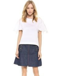 See By Chloé High Low Top - White - Lyst