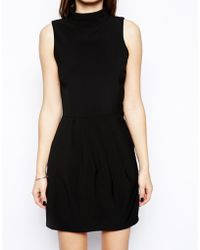 Ax Paris High Neck Dress - Lyst