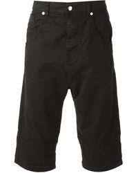 Alexander McQueen Denim Shorts - Lyst