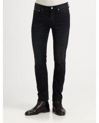 BLK DNM Five-Pocket Slim Fit Jeans - Lyst