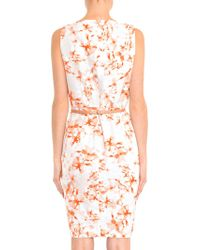 Max Mara Studio Pink Faraone Dress - Lyst