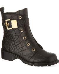 Giuseppe Zanotti Riverside Leather Boots - Lyst