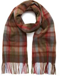 Mulberry | Heritage Check Scarf | Lyst