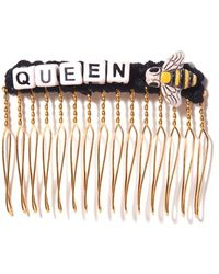 Venessa Arizaga - 'queen Bee' Hair Comb - Lyst