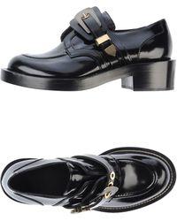Balenciaga Black Moccasins - Lyst