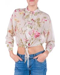Lily Ashwell Jules Printed Blouse - Lyst