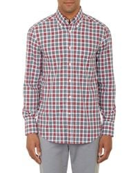 Brunello Cucinelli Plaid Shirt - Lyst