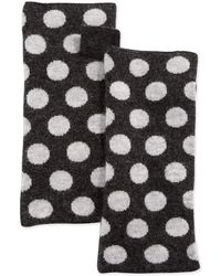 Portolano Polka-Dot Wool Arm Warmers - Lyst
