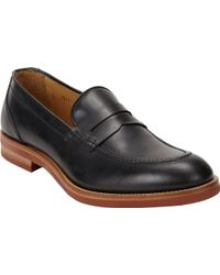Barneys New York Aprontoe Penny Loafers - Lyst