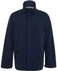 Paul Smith Navy Two Pocket Field Jacket - Lyst