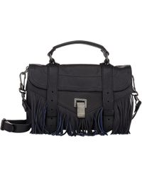 Proenza Schouler Fringed Ps1 Tiny - Lyst