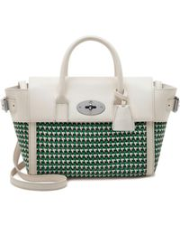 Mulberry Mini Bayswater Buckle green - Lyst