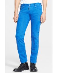 DSquared² Slim Fit Garment Dyed Jeans - Lyst