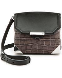 Alexander Wang Prisma Marion Shoulder Bag Oyster - Lyst