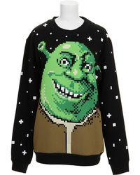 Jeremy Scott Sweatshirt green - Lyst