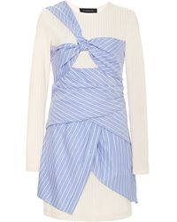 Thakoon Wrapeffect Mini Dress - Lyst