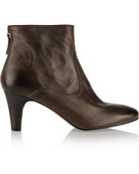 NDC Lizz Balboa Leather Ankle Boots - Lyst
