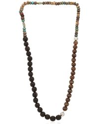 Luis Morais Multi Lotus Beaded Necklace - Lyst