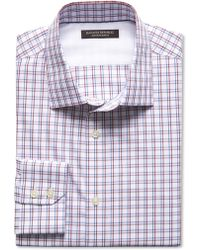 Banana Republic Slim-Fit Non-Iron Two-Tone Shirt - Lyst