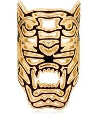 KENZO - Oversized Tiger Ring - Lyst