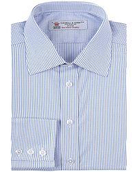 Turnbull & Asser Fine Check Shirt - Lyst