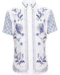 Alexander McQueen Bandanna Print Shirt - Lyst